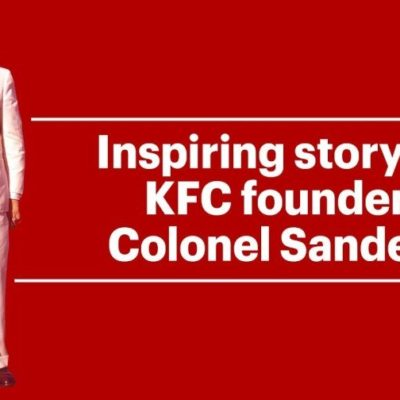 Kfc founder. Mr Colonel Sanders