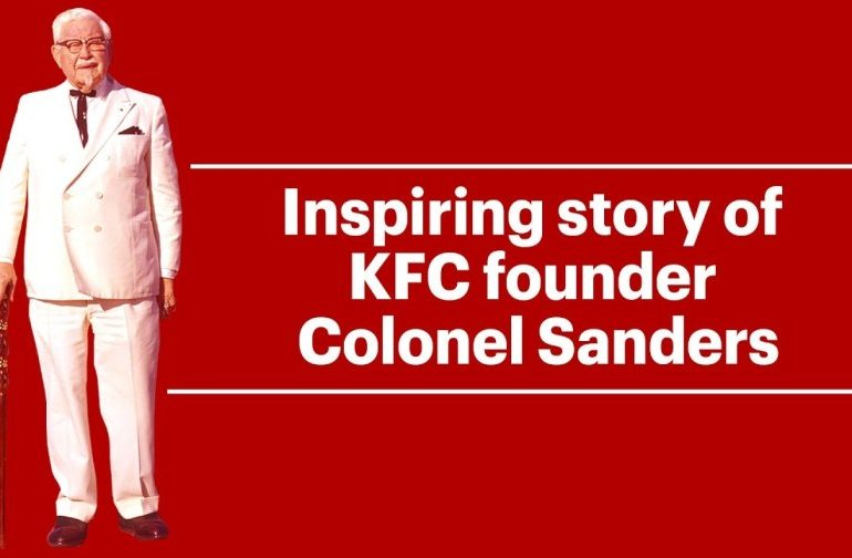Kfc founder. Mr Colonel Sanders