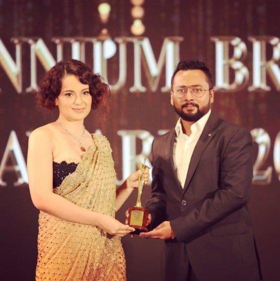 Best Wedding planner Award 2019 By KANGANA RANAUT