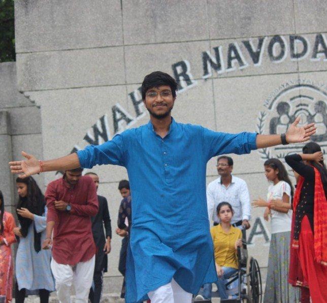 Bipul Raj At Navodaya School