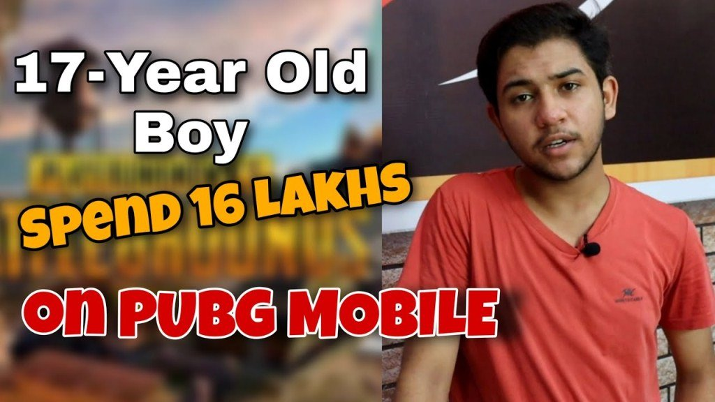 Pubg Player Spent 16 Laks