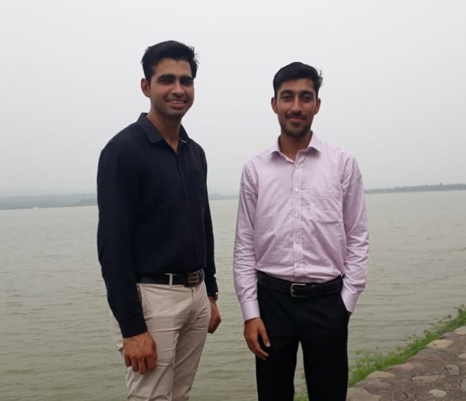 Gaurav Sharma & Abhishek Khanchi (Another Co-Founder)