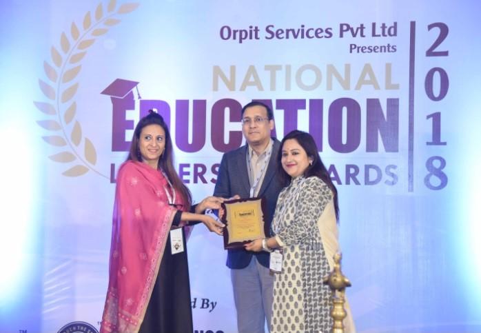 National Education Leadership Award 2018