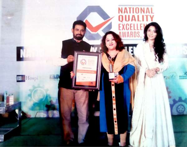 National Quality Excellence Award 2017