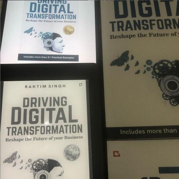 Driving Digital Transformation Book