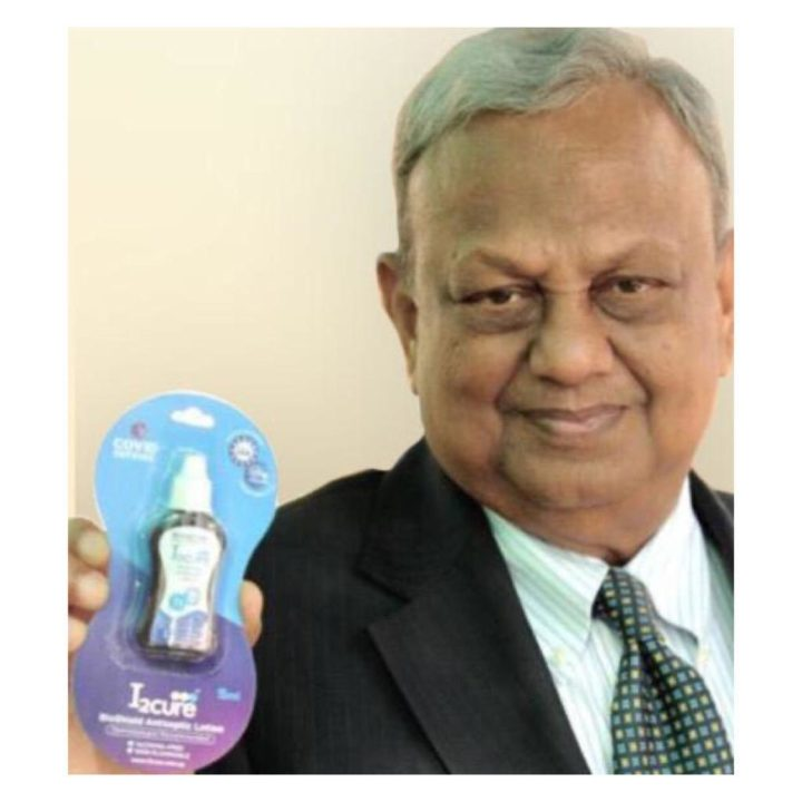 Anil Kejriwal With I2Cure Products