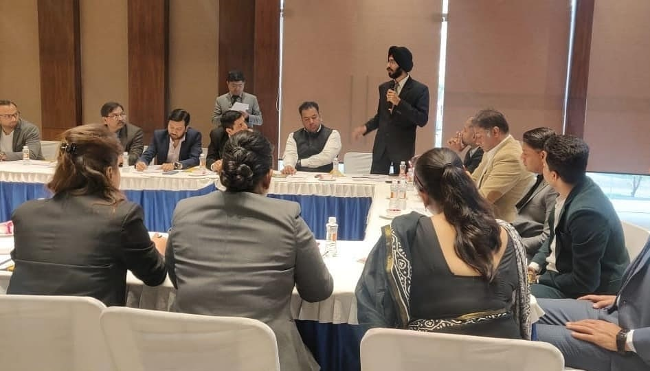 Bhavpreet Singh In Conference