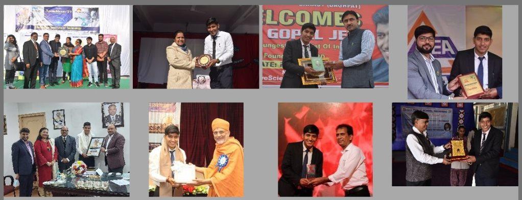Gopal Jee's Awards & Achievements