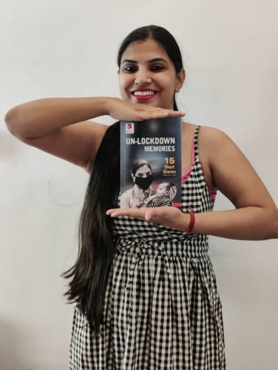 Un-lockdown Memories15 Short Stories Book launch