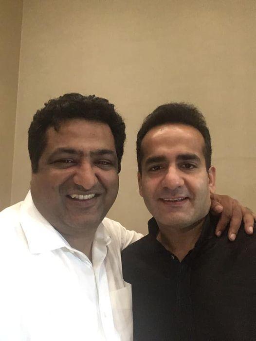 Tushar kansal With Aman Bhai Chopra