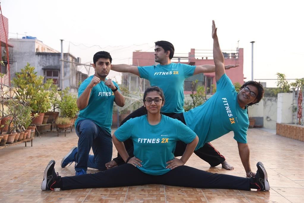 Shyamantak Ganguly & Fitnes 2X Team